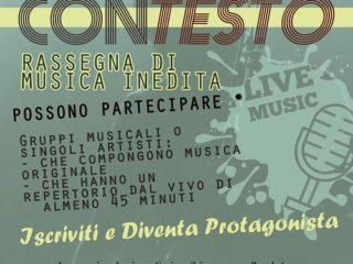 """""""CONTESTO"""" – Rassegna di musica inedita - Aperte le iscrizioni"""