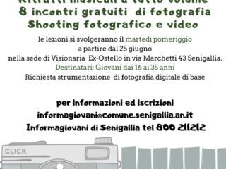 Laboratorio di fotografia-Shooting fotografico e video con utilizzo di Photoshop e Premiere